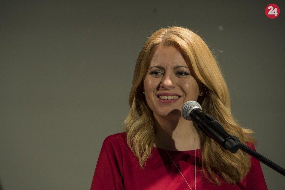 Zuzana Čaputová - 1. kolo prezidentských volieb