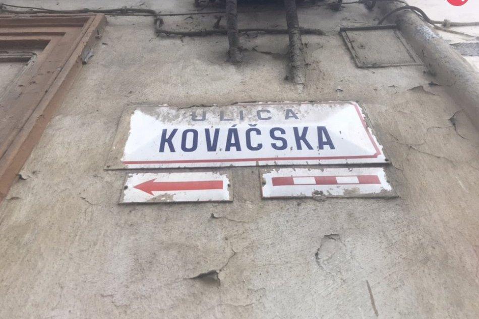 Kováčska a Mäsiarska ulica Košice