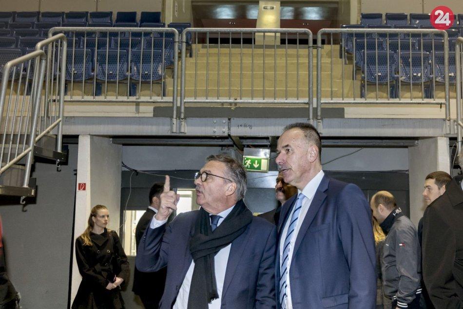 Prezident IIHF prišiel na Slovensko