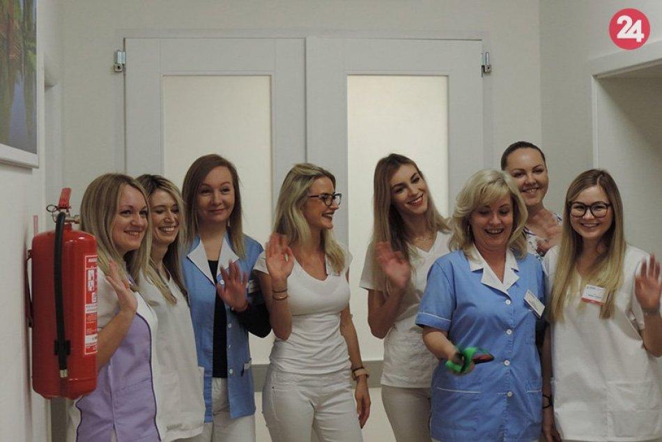 Nové moderné dermatovenerologické oddelenie v novozámockej nemocnici
