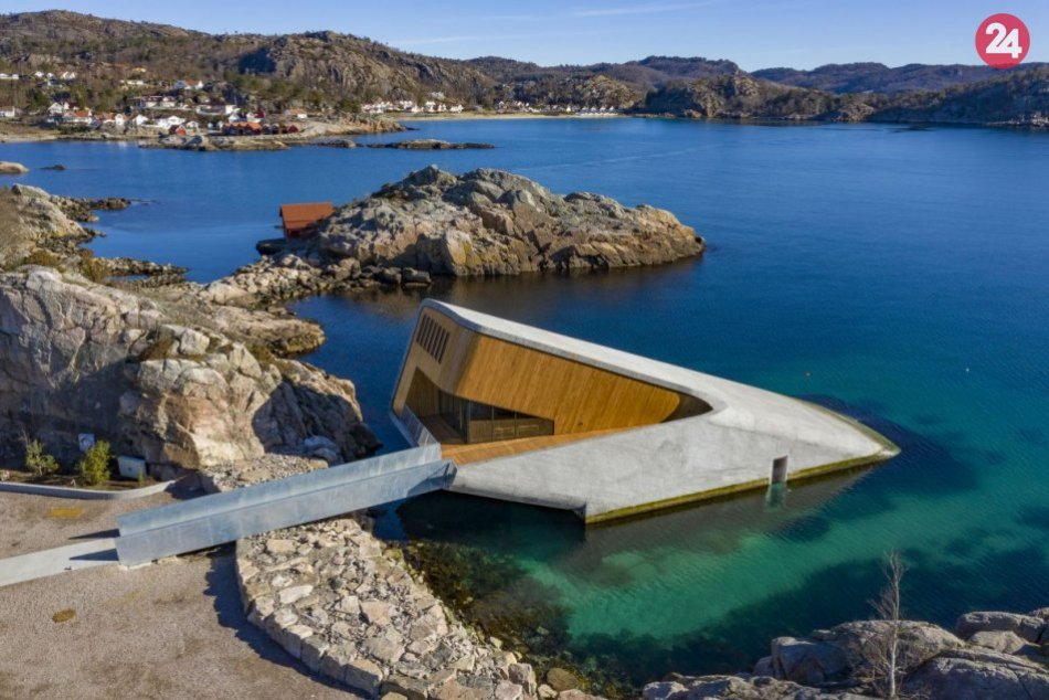 V Nórsku otvorili prvú európsku podmorskú reštauráciu