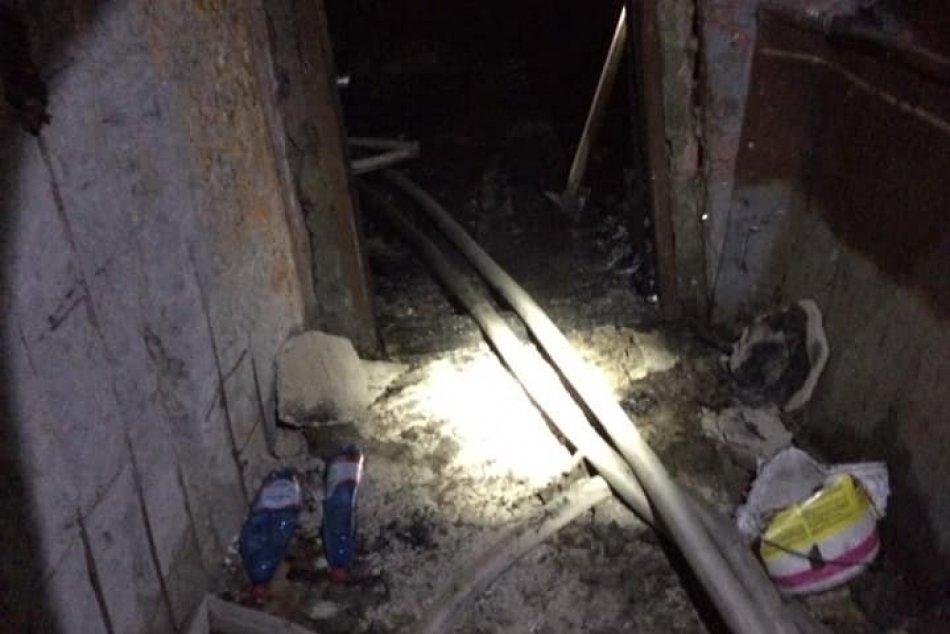 Požiar v Trebišove, pri ktorom zahynulo dieťa