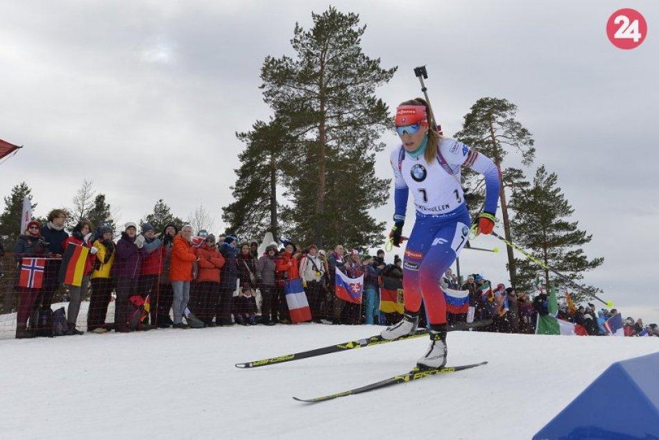 Preteky s hromadným štartom žien na 12,5 km v 9. kole Svetového pohára