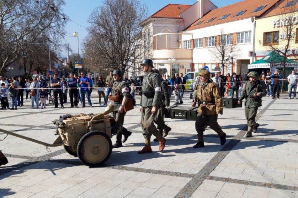 Rekonštrukcia historických bojov v Zlatých Moravciach