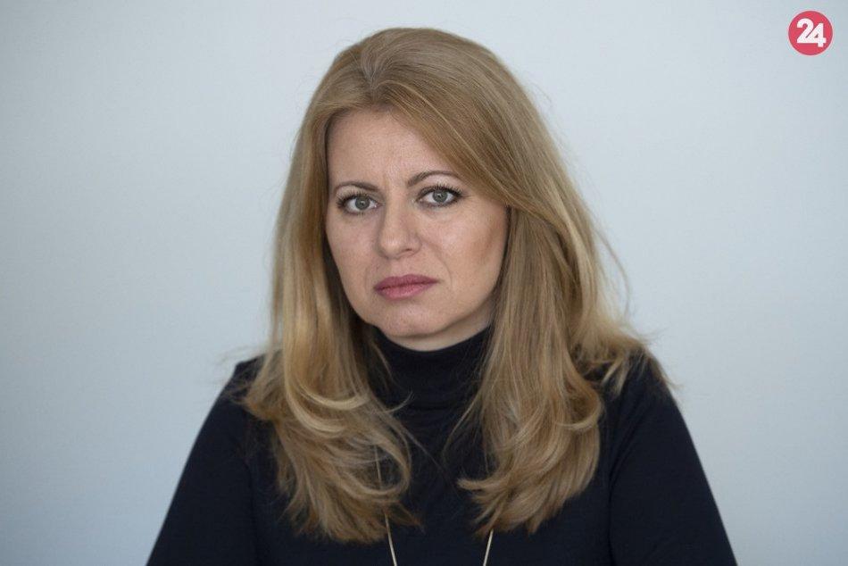 V OBRAZOCH: Víťazka prezidentských volieb Zuzana Čaputová