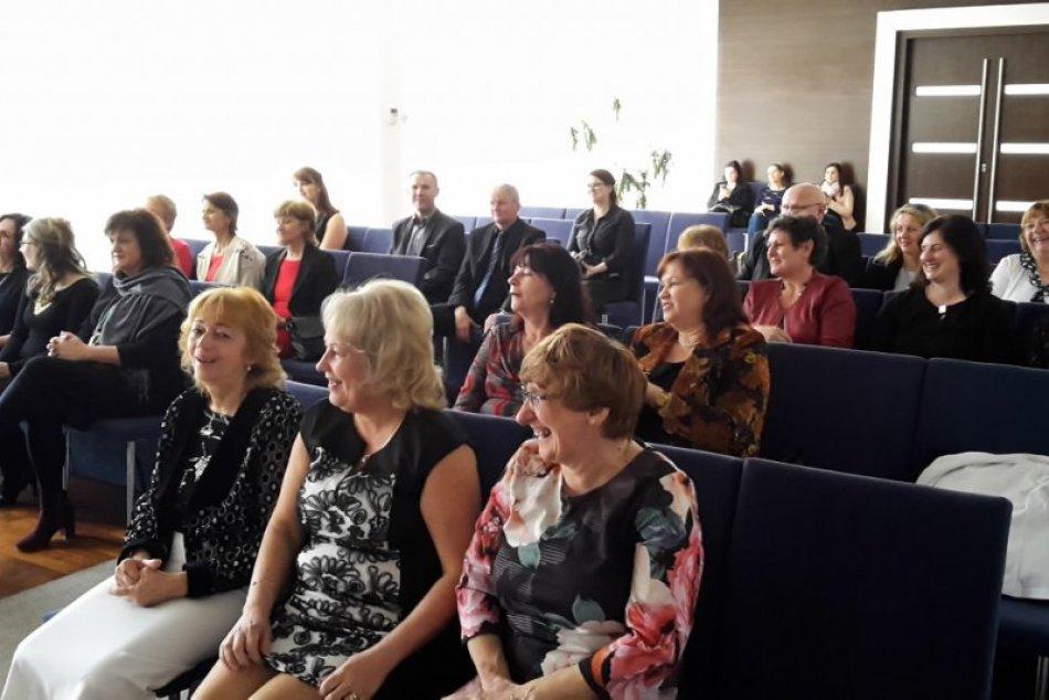 Deň učiteľov 2019: Zábery z oceňovania tých považskobystrických