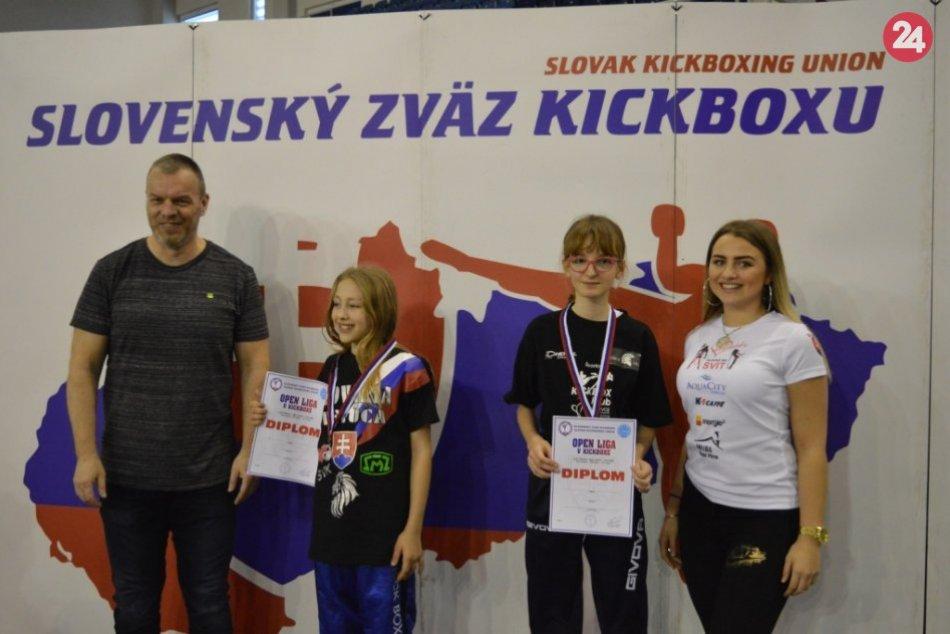 Športový Kickbox klub Michalovce na 2. kole Open ligy SZKB v kickboxe