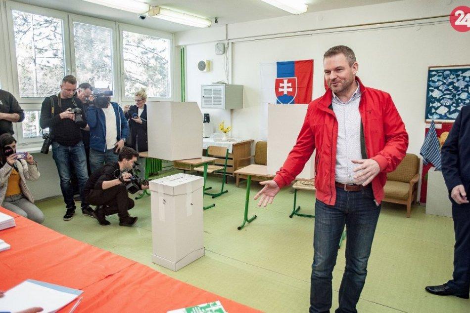V Bystrici odvolil aj premiér: Teší sa na spoluprácu s novou hlavou štátu, VIDEO