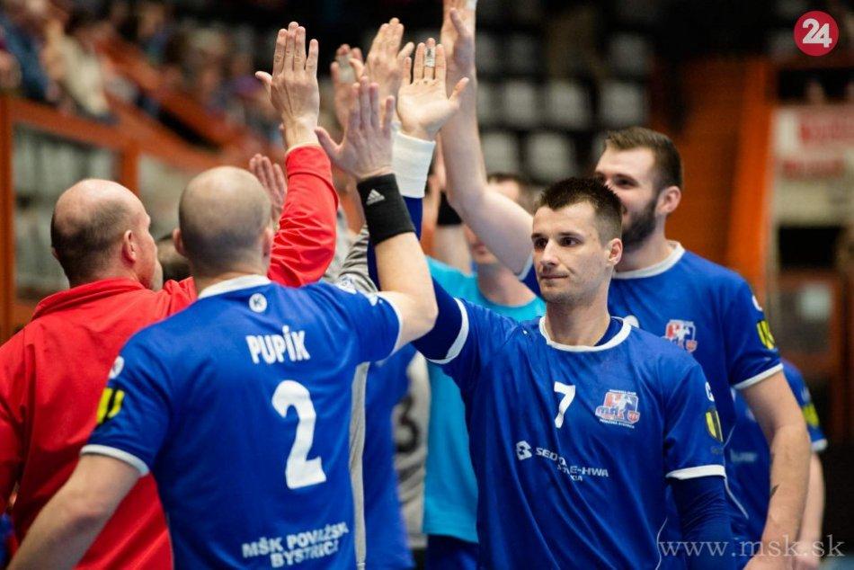 Repríza finále Slovenského pohára Považská Bystrica - Prešov: Zábery zo zápasu