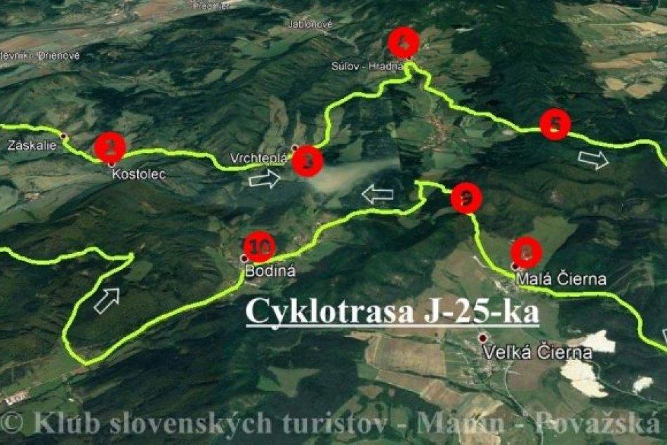 Cyklotrasa pre 43. ročník Jilemnického jarnej 25-ky: Pozrite, kadiaľ sa pôjde