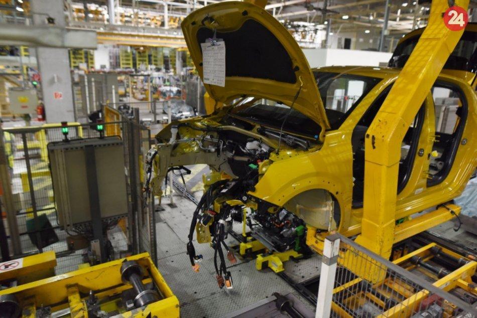 Trnavská automobilka vyrába elektromobil