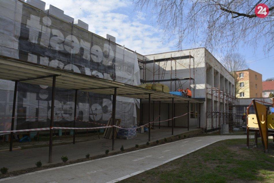 Dve materské školy v Považskej sa rekonštruujú: Ide o tieto