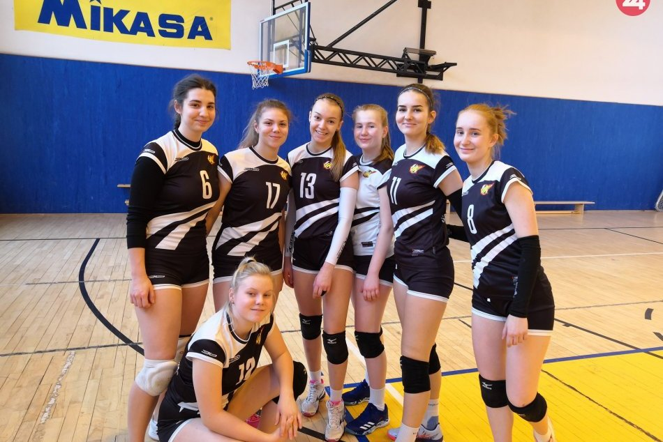 FOTO: Mladé, úspešné volejbalistky zo Spišskej