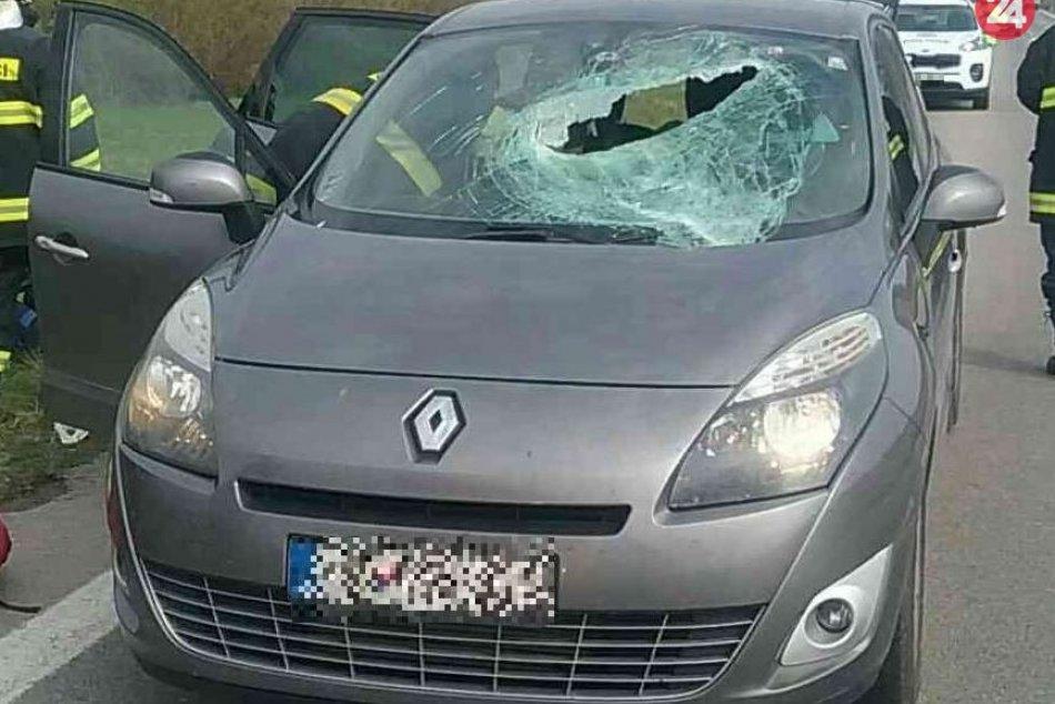 Dopravná nehoda pri obci Diviacka Nová Ves: Zábery z miesta