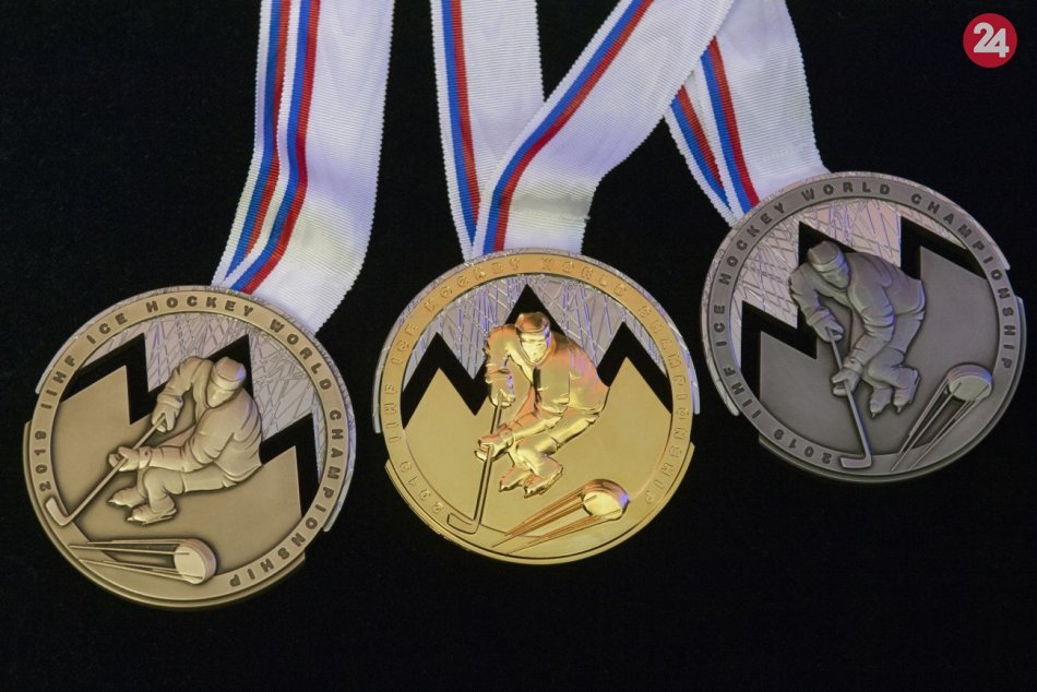 Predstavili medaily hokejového šampionátu