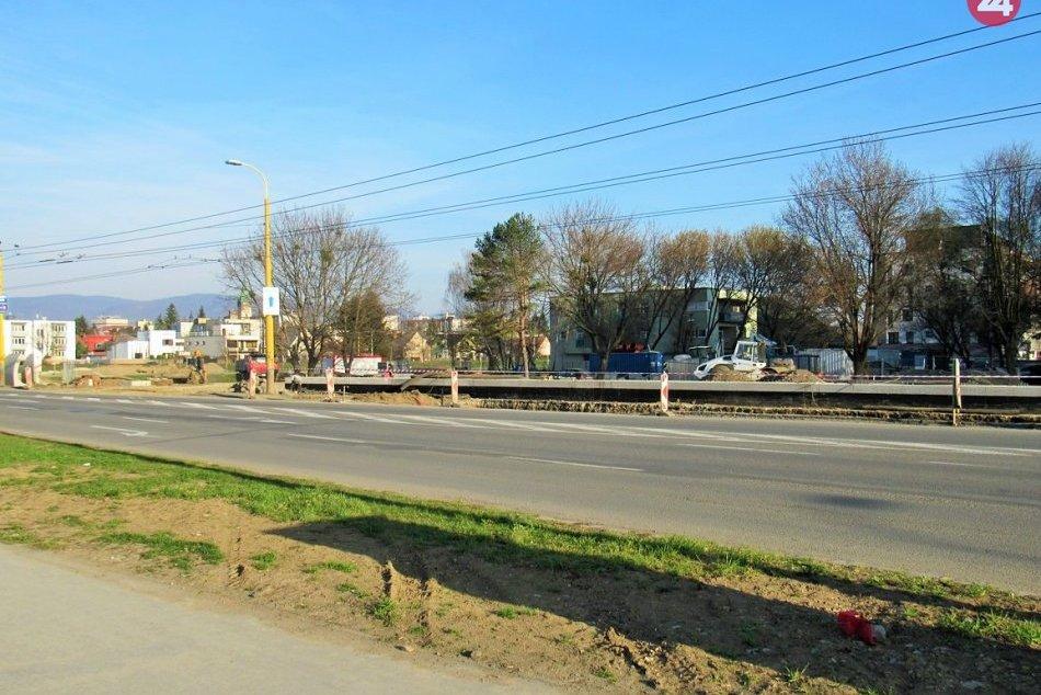 Na jej rekonštrukciu sa netrpezlivo čaká: Levočská v Prešove podlieha zmenám