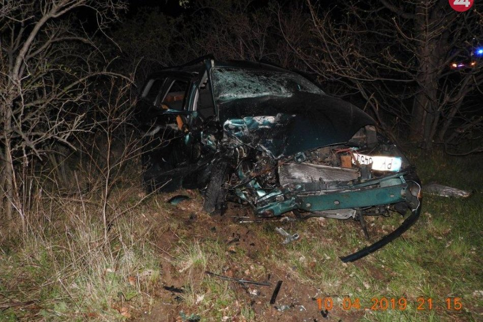Dopravná nehoda medzi obcami Dolné Orešany a Doľany
