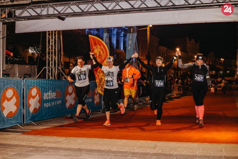 Skvelá atmosféra a stovky účastníkov: Prešov má za sebou súťaž Night Run