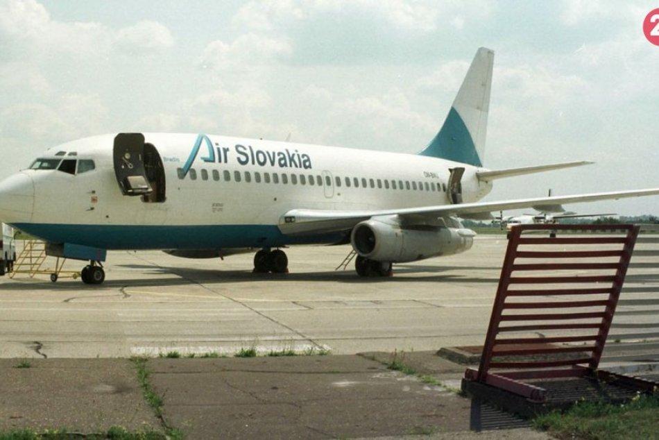 Skrachované slovenské aerolinky