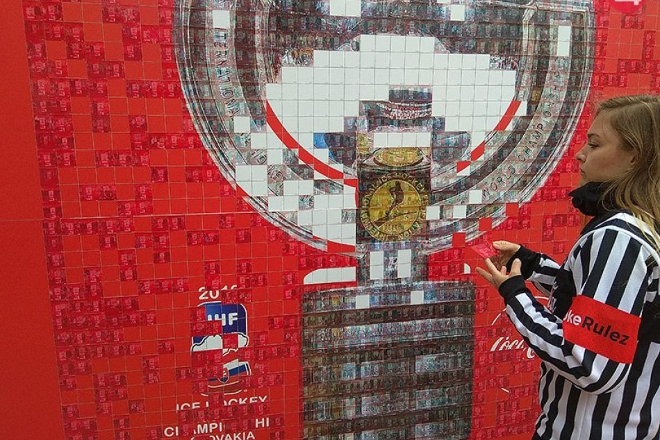 Zámky navštívila trofej Majstrovstiev sveta IIHF v ľadovom hokeji