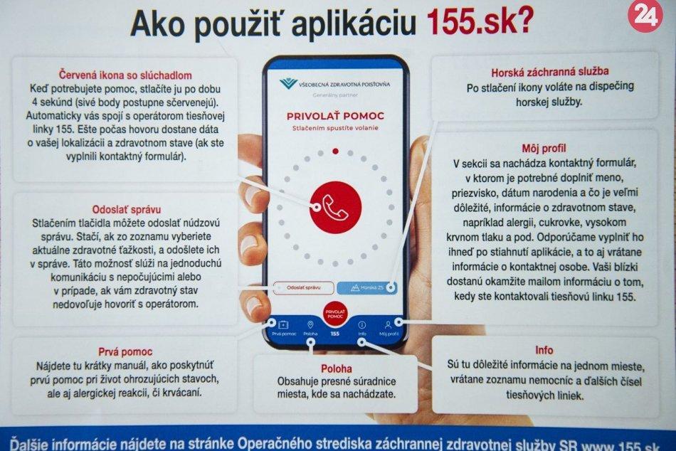 Nová mobilná aplikácia 155.sk