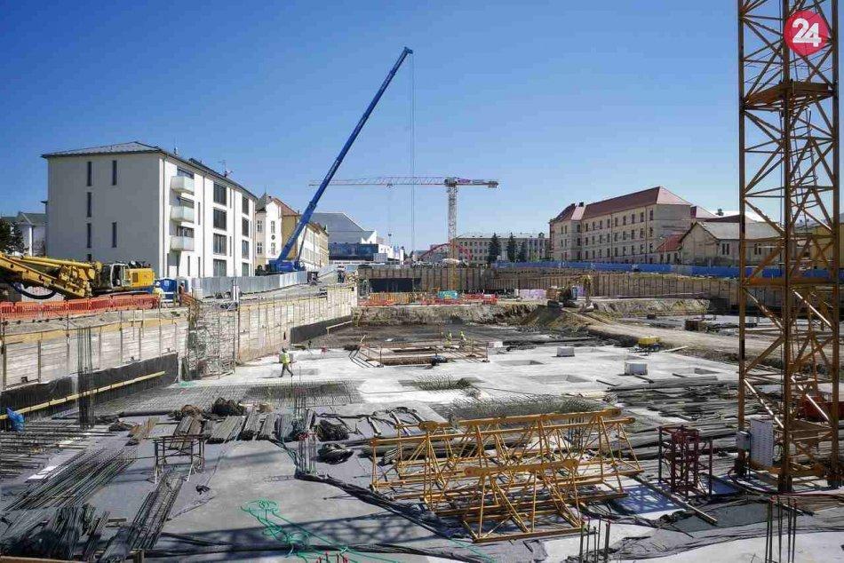 OC Forum Prešov? Nastal ďalší posun, výstavbu už oficiálne zahájili, FOTO