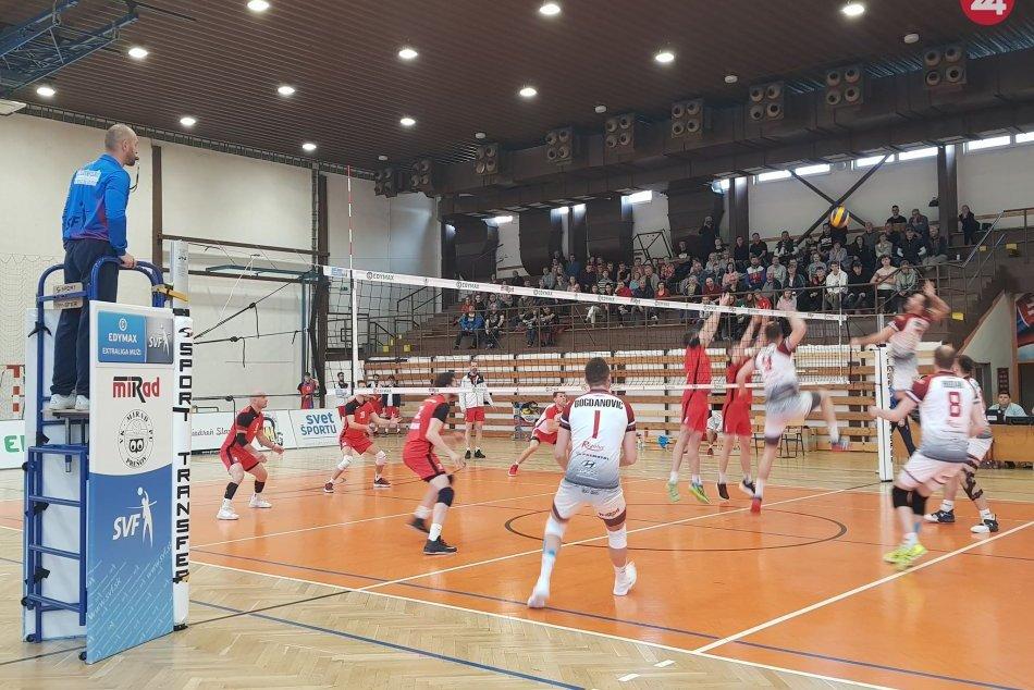Séria play off vo volejbale: Prešovčania Komárno zdolali a vedú 1:0
