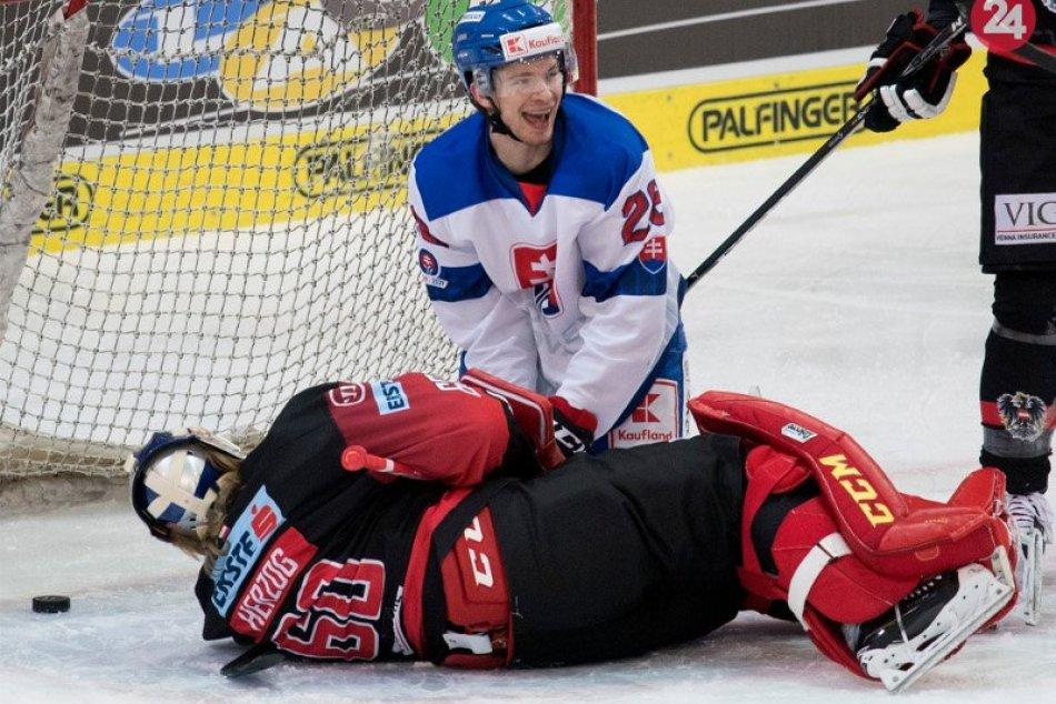 Slováci zdolali Rakúšanov na ich ľade