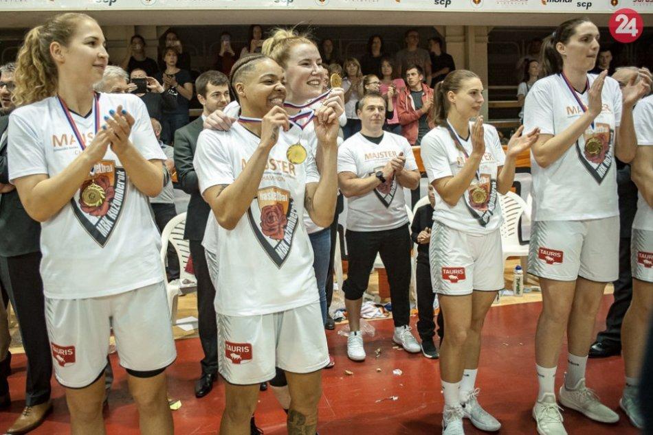 FOTO: Ružomberok sa stal majstrom basketbalovej extraligy