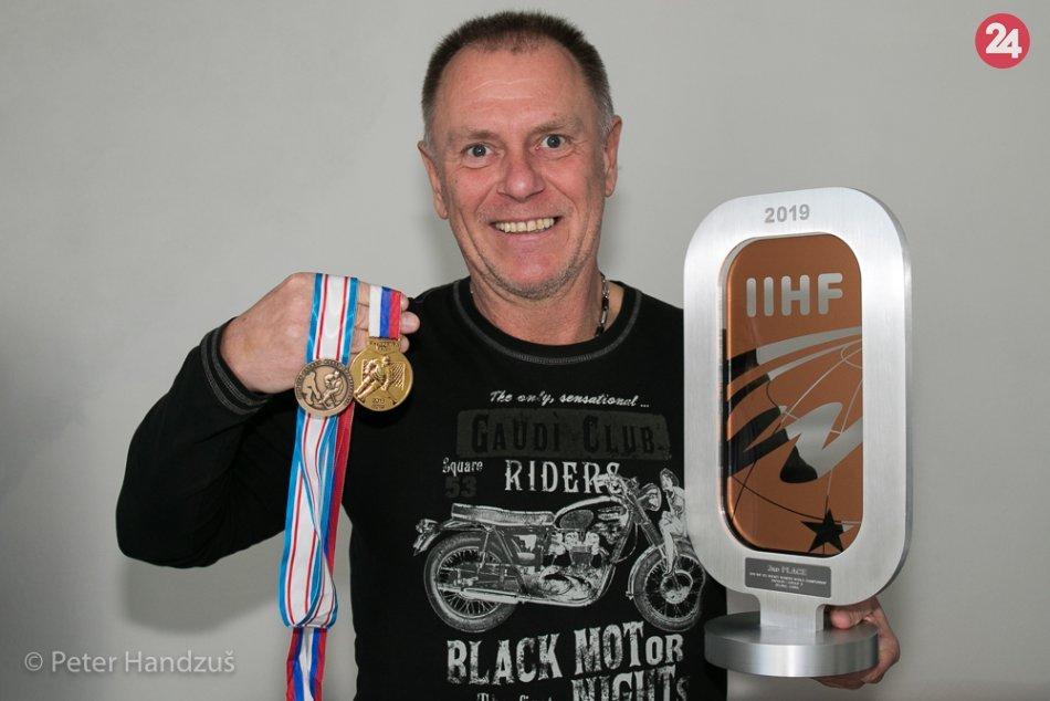 Top sezóna popradského trénera: S líškami získal zlato, s reprezentáciou bronz
