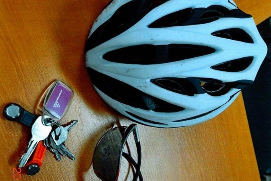 FOTO vecí neznámeno cyklistu: Policajti pátrali po jeho totožnosti