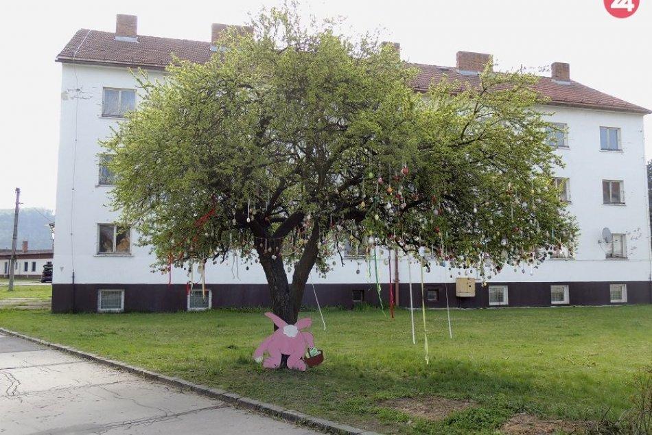 FOTO: V Hliníku nad Hronom je symbolom Veľkej noci strom
