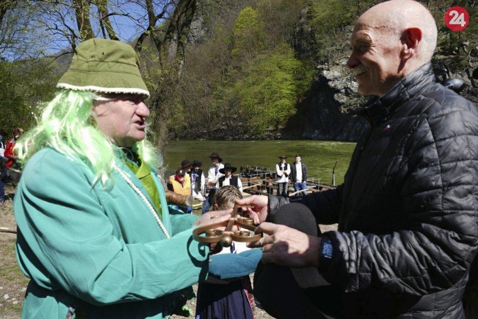 Tradíciu strečnianskeho pltníctva obnovili pred dvadsiatimi rokmi