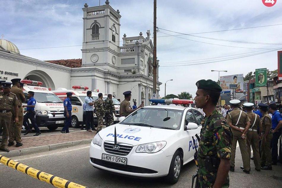 Bombové útoky na Srí Lanke