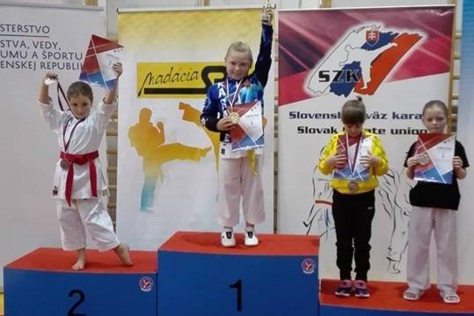 3. kolo Slovenského pohára v karate detí a žiakov