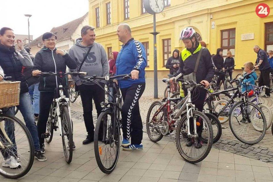 Cyklojazda po Fraštáku: Jazdilo sa na bicykloch, korčuliach i kolobežkách, FOTO