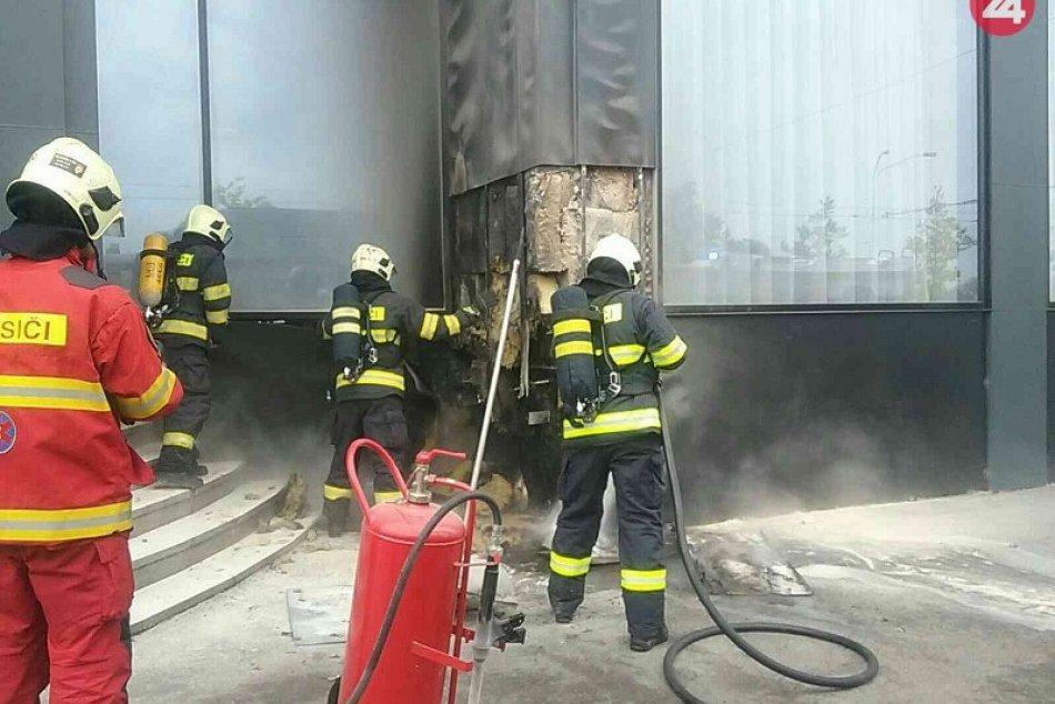Požiar hotela Park Inn Danube