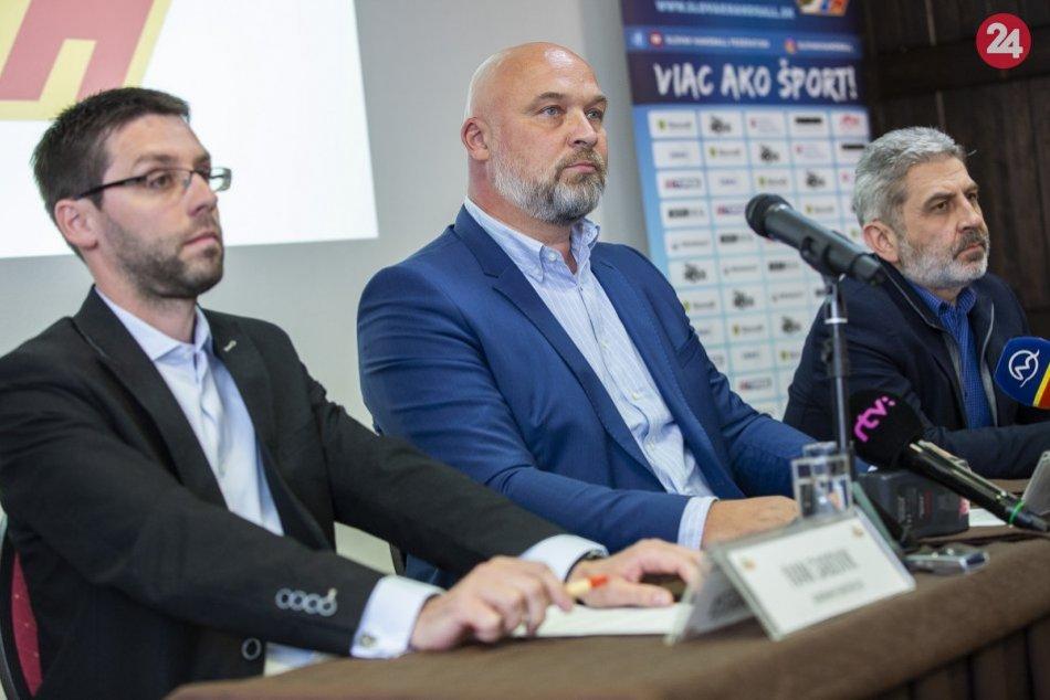 FOTO: Tlačovka, na ktorej potvrdili považskobystrický triumf v Slovenskom pohári