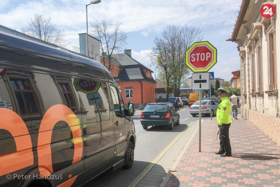 Zmena organizácie dopravy na križovatke ulíc Alžbetina a Hviezdoslavova