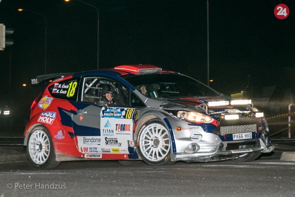 46. ročník Rallye Tatry - Večerný okruh