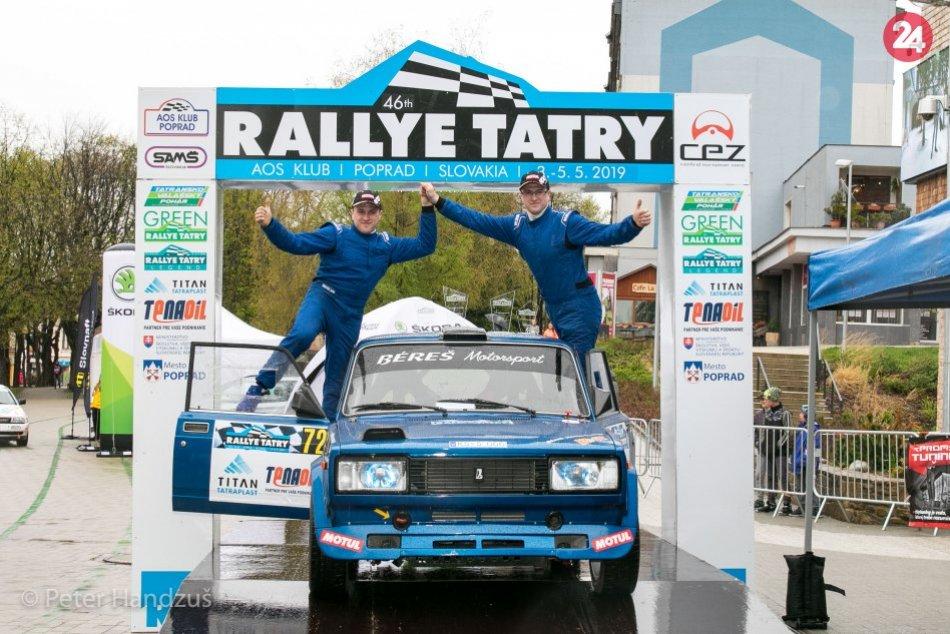 46. ročník Rallye Tatry (štart+cieľ)