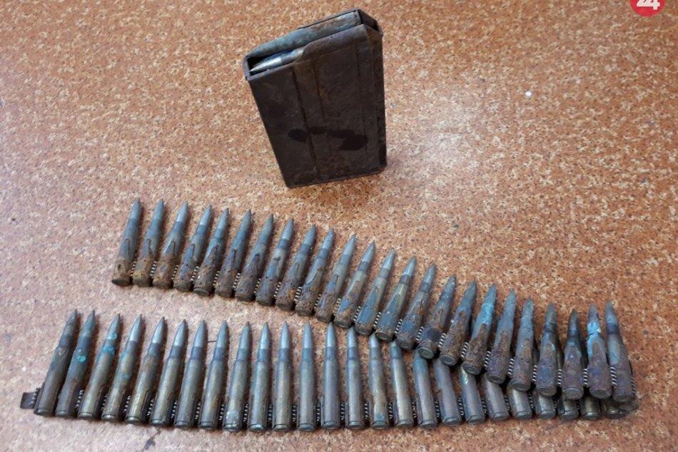 Muž (35) priniesol na Obvodné oddelenie v Trenčíne staré náboje