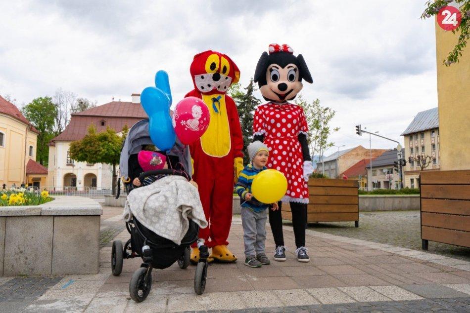 Míľa pre mamu v Brezne 2019