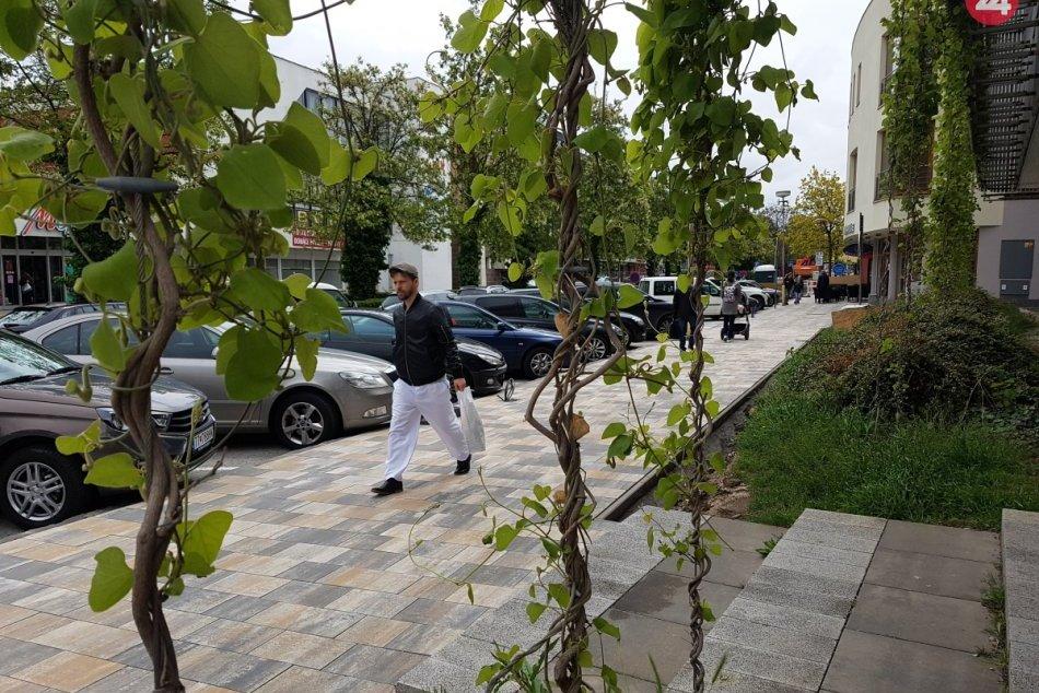 Paulínska mení svoj vzhľad: Rekonštrukcia chodníka je v plnom prúde