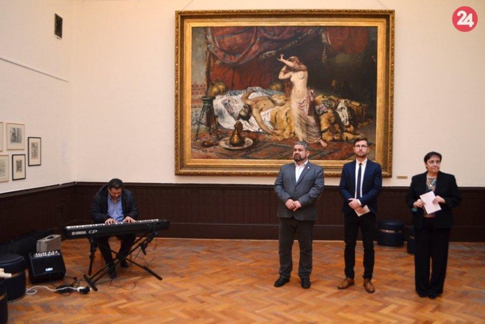 Obrazom: Andrássyho obrazáreň otvorila svoje brány