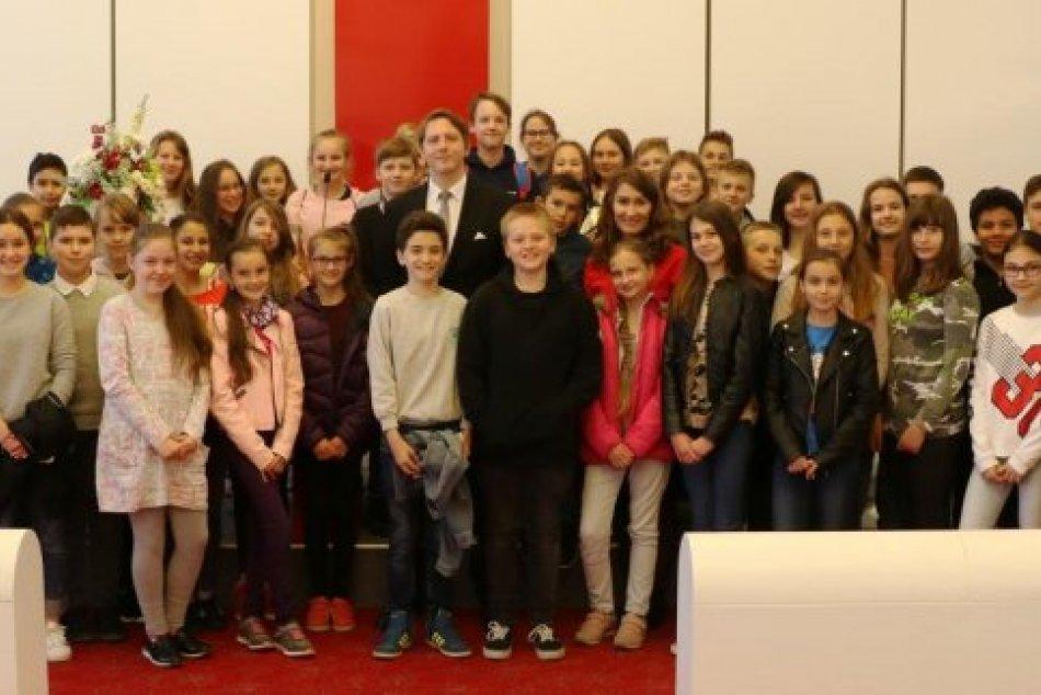 OBRAZOM: Žiaci základnej školy v Prešove vyspovedali zástupcu primátorky
