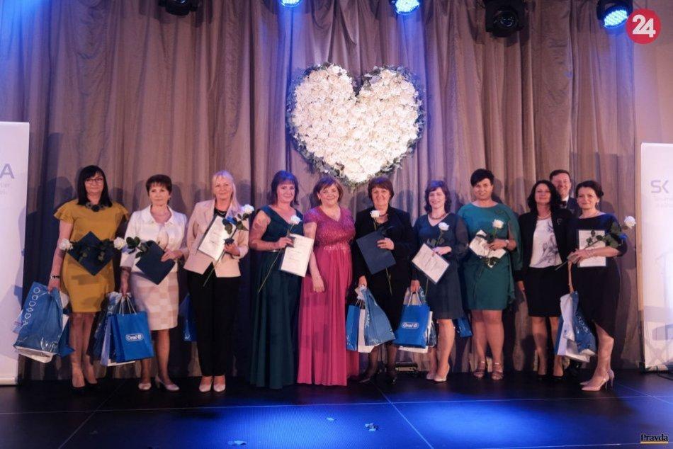 V OBRAZOCH: Ocenenie Biele srdce pre sestru z bystrickej nemocnice