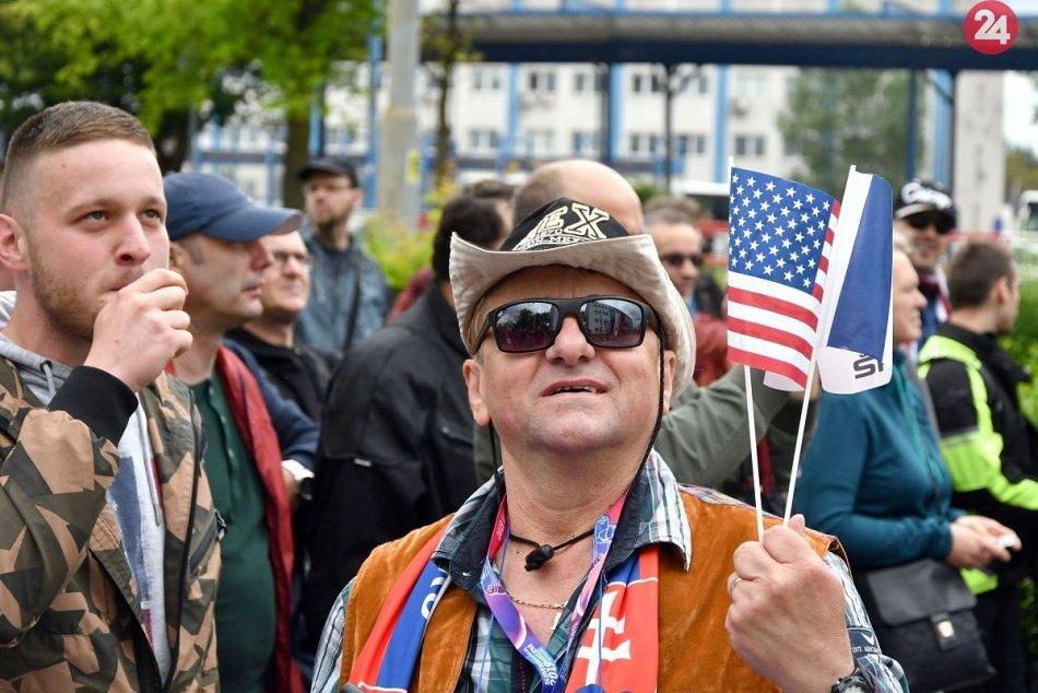 Protest pred U.S.Steel