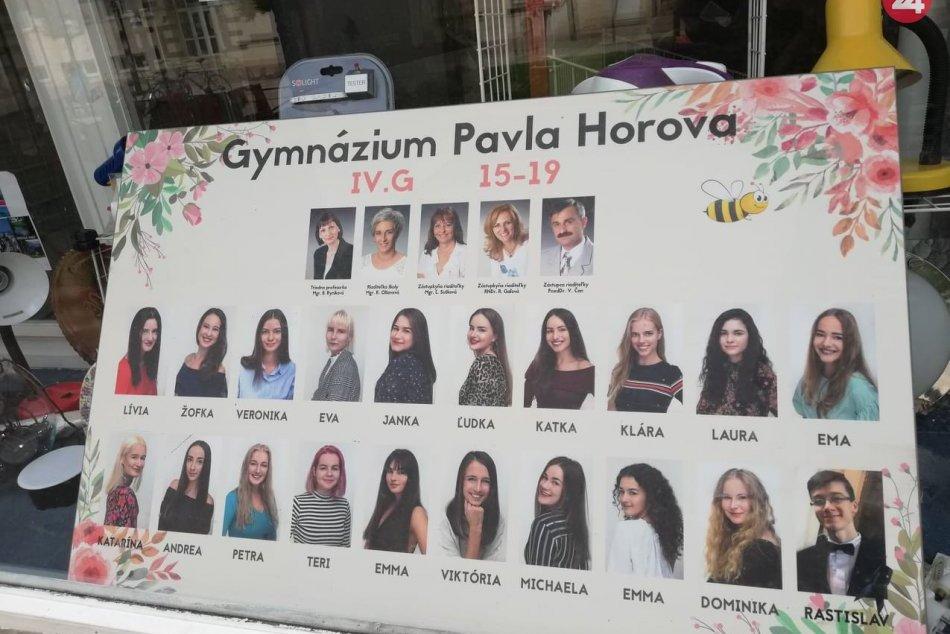 Maturitné tablá v našom meste: Takéto diela sú v Michalovciach k videniu