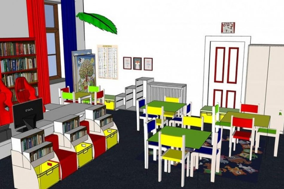 Knižnici schválili dotáciu: Detské oddelenie sa bude tešiť z nového nábytku